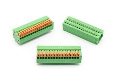 Type TB, connecteurs de ressort de Screwless Photographie stock libre de droits