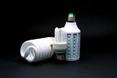 Type trois de lampe de LED Photos stock