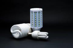 Type trois de lampe de LED Photographie stock