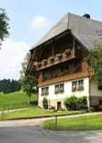 Type type de Chambre dans les Alpes photographie stock
