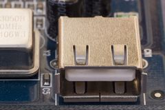 Type A USB Socket Stock Photography