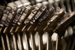 Typebars Stock Photo