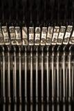 Typebars Стоковые Фотографии RF