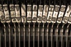 Typebars Стоковые Изображения RF