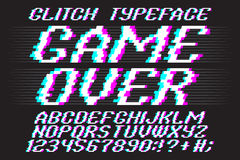 Typeface Game Over Stock Images