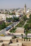 Typen von Monastir in Tunesien, Afrika lizenzfreie stockfotos
