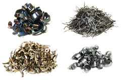 Typer av metallrakningar, når att ha klippt Arkivfoton