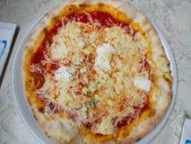 Typer för pizza 4 av ost Royaltyfri Fotografi