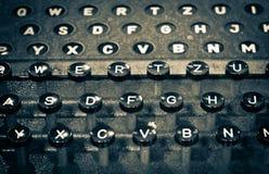 TyperWriter de WWII imagenes de archivo