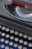 Typerwriter velho Fotos de Stock Royalty Free