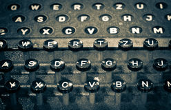TyperWriter from WWII Stock Images