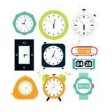 Types of alarms clocks, digital Royalty Free Stock Photo