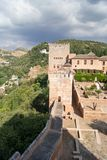 Types of Alhambra Royalty Free Stock Photo