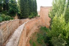 Types of Alhambra Royalty Free Stock Photos