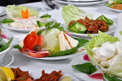 Types of appetizer Stock Photography