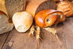 Types of bread royalty free stock photos