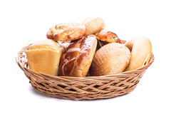 Types of bread Stock Image