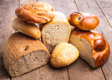 Types of bread Stock Images