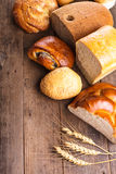 Types of bread Royalty Free Stock Photos