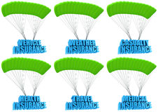Types of business insurance Stock Image