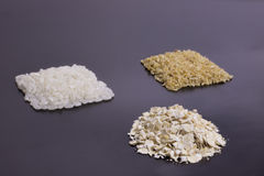 Types of cereals Stock Photos
