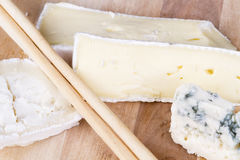 Types-of-cheese Royalty Free Stock Photos