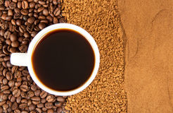 Types of coffee Stock Photos