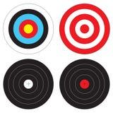 Types de cibles Image libre de droits