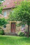 Types de villages allemands Querenhorst, Wolfsbourg, Allemagne photos stock