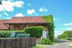 Types de villages allemands Querenhorst, Wolfsbourg, Allemagne photos libres de droits