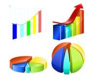 Types of diagrams. Stock Photo