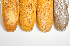 Types of French bread Royalty Free Stock Photos