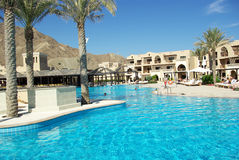 Types of Fujairah resorts. Royalty Free Stock Photos
