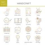 Types of handmade set Stock Photo