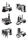 Types of industrial construction Royalty Free Stock Images