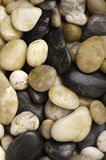 Types nombreux de roche usée de fleuve Photo stock
