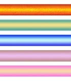 Types pour des drapeaux Photographie stock