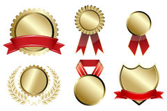 Types of prizes Stock Photos