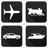 Types of transport Royalty Free Stock Images