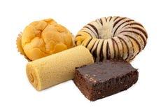 Types van bakkerij Stock Foto