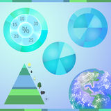 Types van energiemiddelen Royalty-vrije Stock Afbeelding