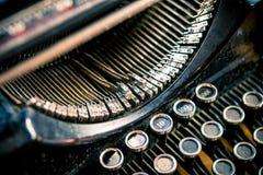 Types of Vintage Typewriter Royalty Free Stock Photo