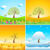 Types of weather Stock Images