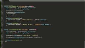 TypeScript Programming Language Source Code Typing Effect. TypeScript Programmer Ticker Colored Commands Editor Screen. Network