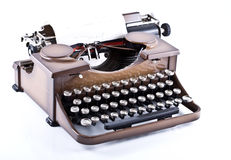 typewrite Arkivfoto