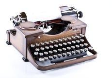Typewrite. Shoot of typewrite on the white background Stock Photo