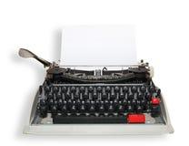 Typewrite with sheet Royalty Free Stock Image