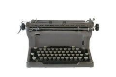 Typewriter. Antique typewriter isolated against white background Stock Photography
