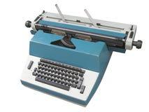 Typewriter. The image of typewriter under the white background Royalty Free Stock Photo