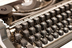 Typewriter stock photo